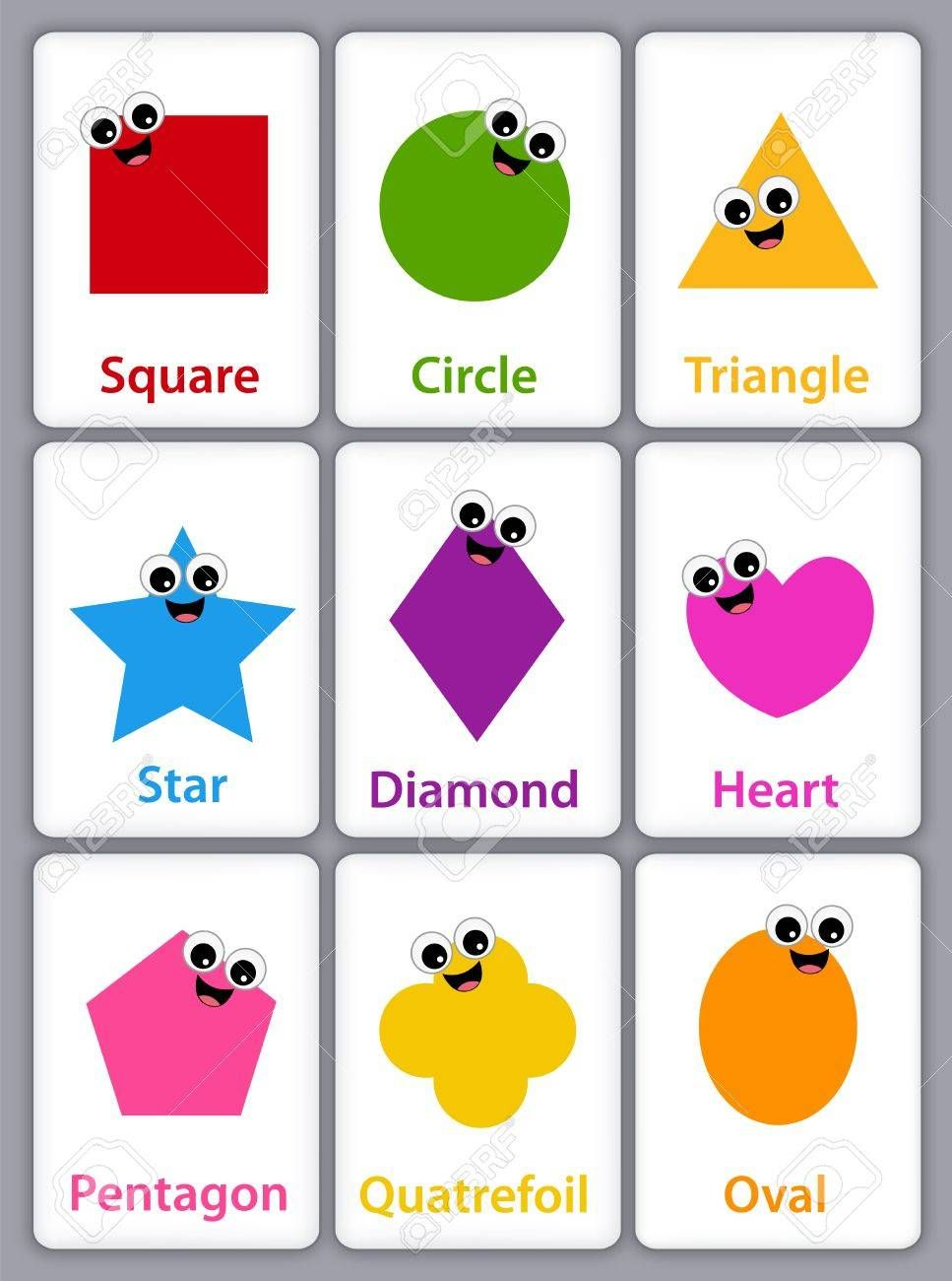 Image result for BASIC SHAPES WITH NAME clipart.