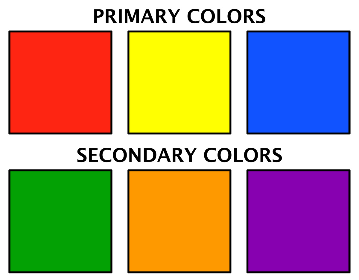 Basic color clipart.