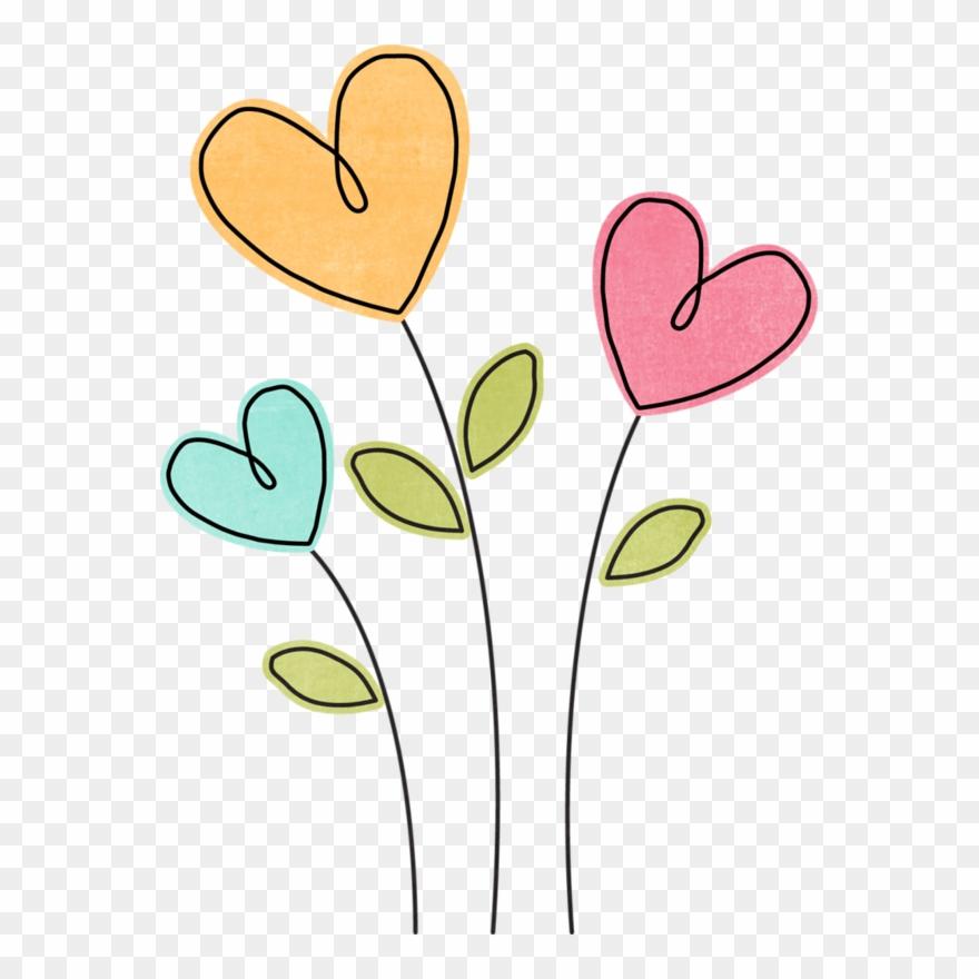 Cake Clipart, Heart Clip Art, Flower Clipart, Easy.