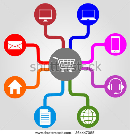 Omni Channel Stock Photos, Royalty.