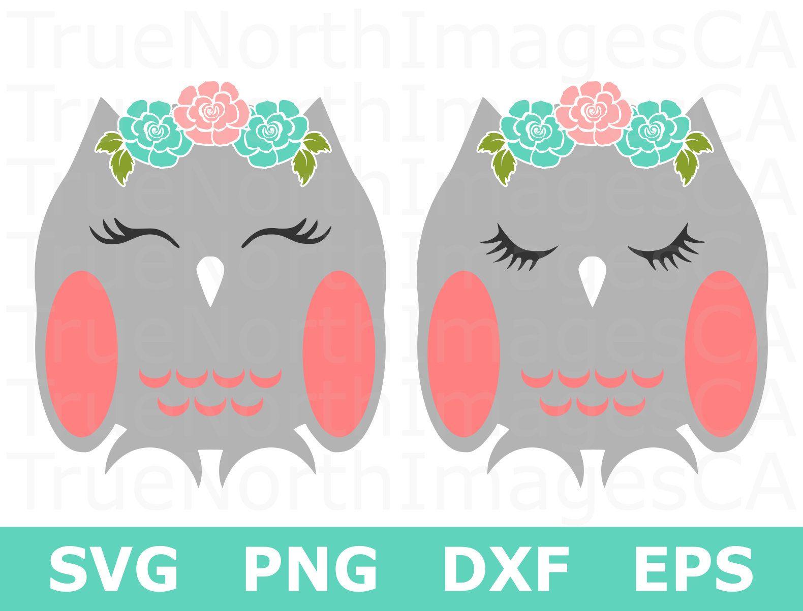 Owl SVG / Owl Clipart / Owl Cut File / Cute Owl Svg / Boho.