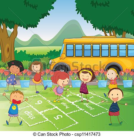 Schoolyard Illustrations and Clipart. 511 Schoolyard royalty free.