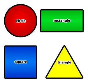 Basic Shapes Clipart.