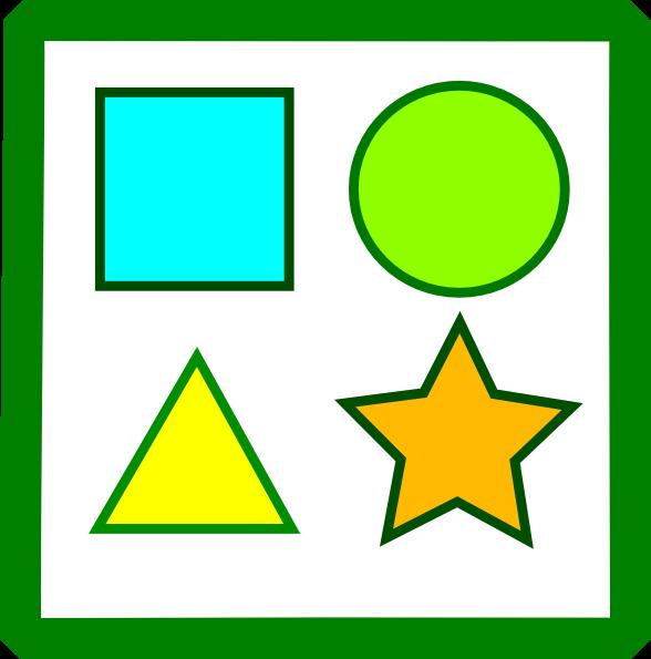 Basic Shapes Cliparts.