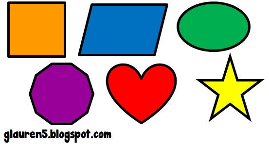Shapes In Clipart.