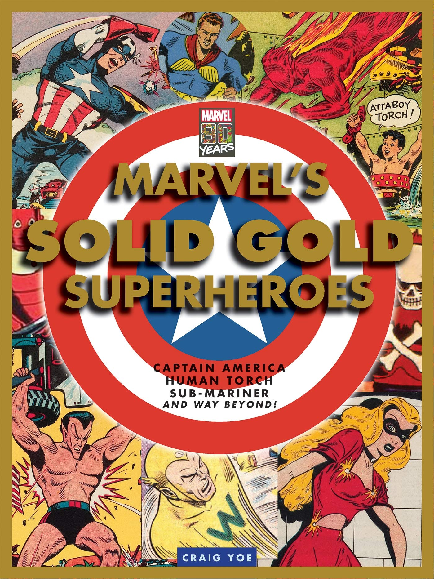 Marvel\'s Solid Gold Super Heroes: Captain America, Human.
