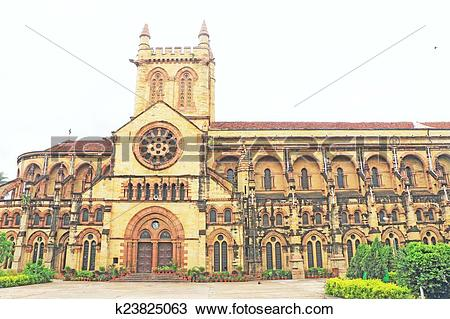 Stock Photo of All Saints basilica Cathedral allahabad india.