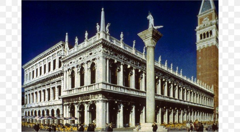 Piazza San Marco Biblioteca Marciana Saint Mark\'s Basilica.