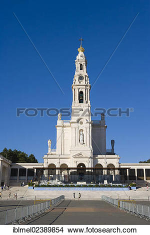 """Stock Photo of """"The Basilica of Our Lady of the Rosary, Santuario."""