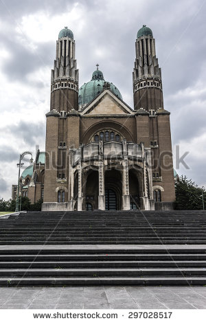 Basilica of the sacred heart clipart #9