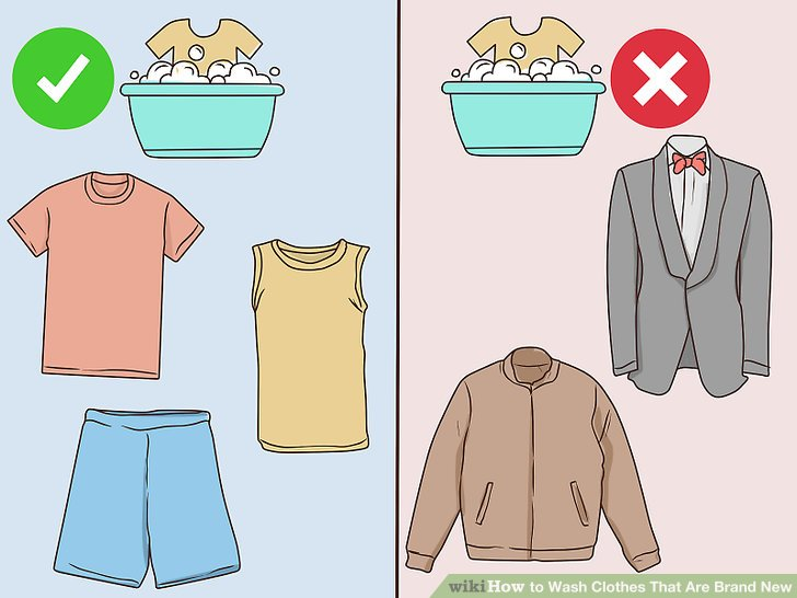 How to Wash Clothes That Are Brand New (with Pictures).