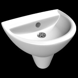 White Wash Basin Clipart.
