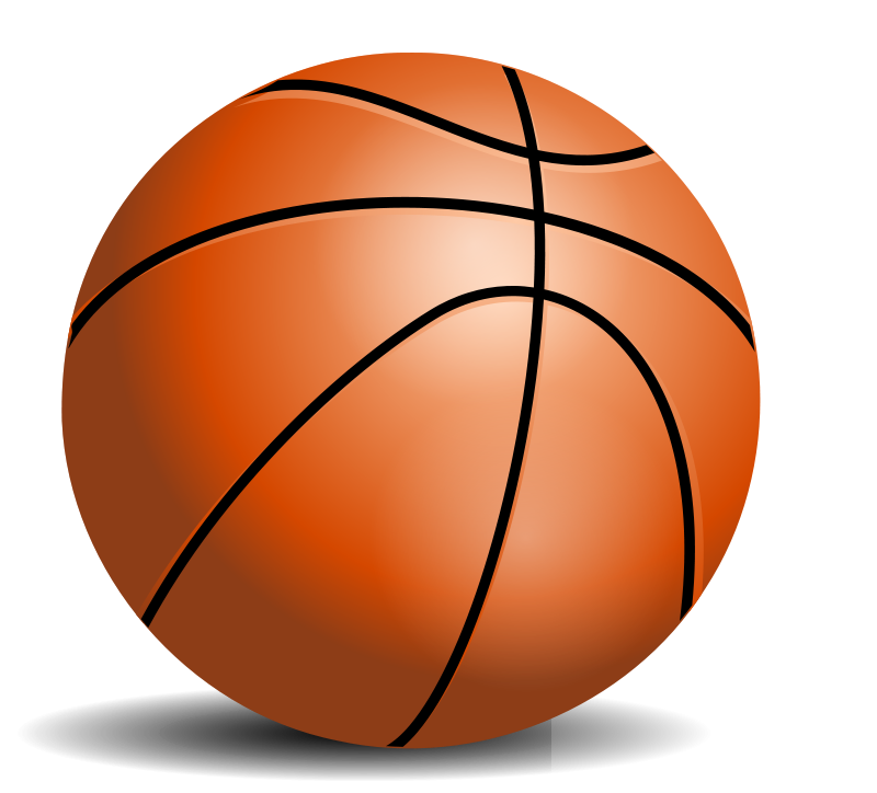 basketball clip art on.