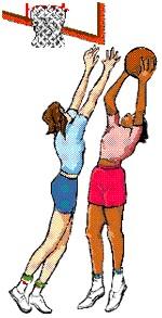 Girls Basketball Clipart.