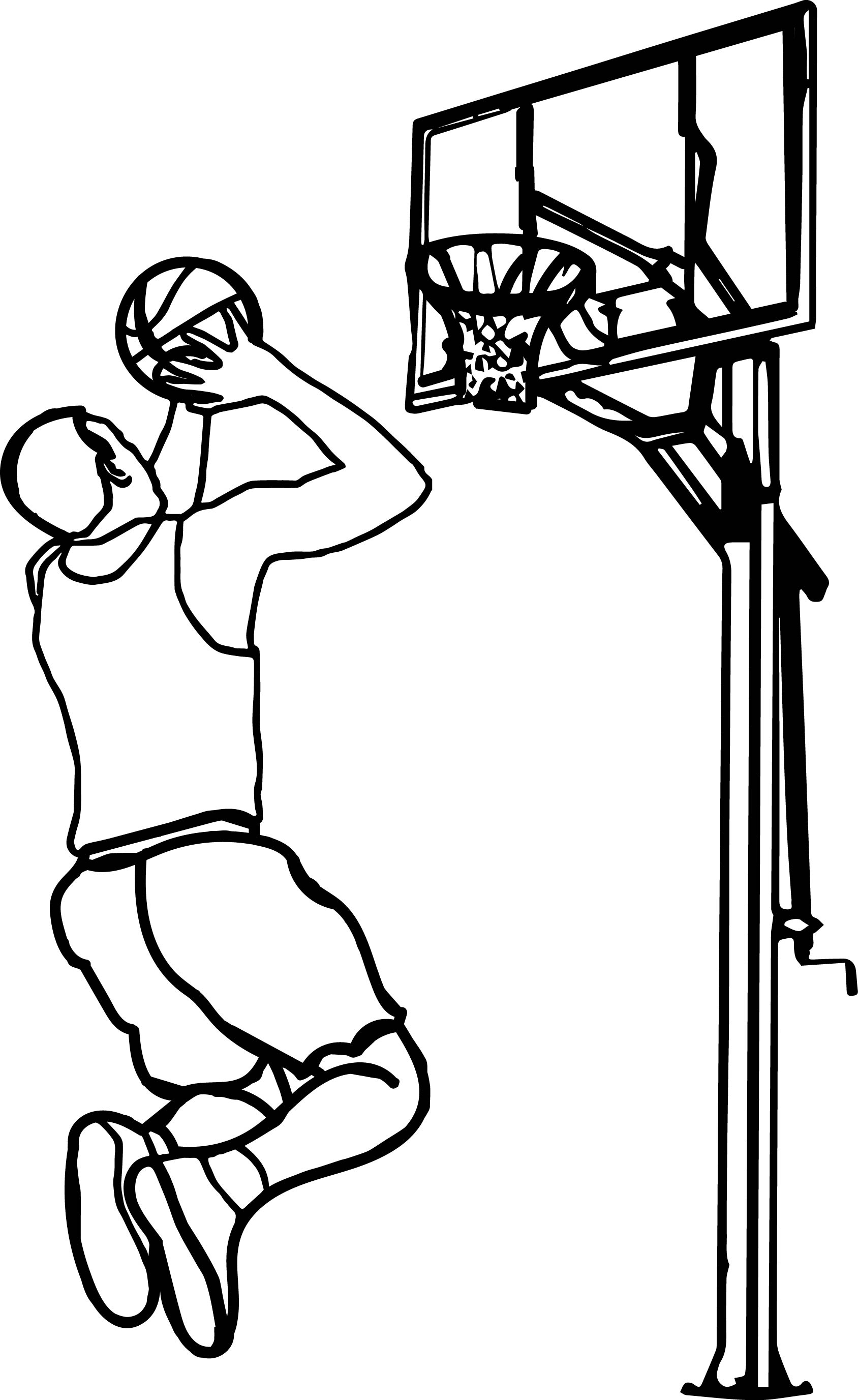 17461 Basketball free clipart.
