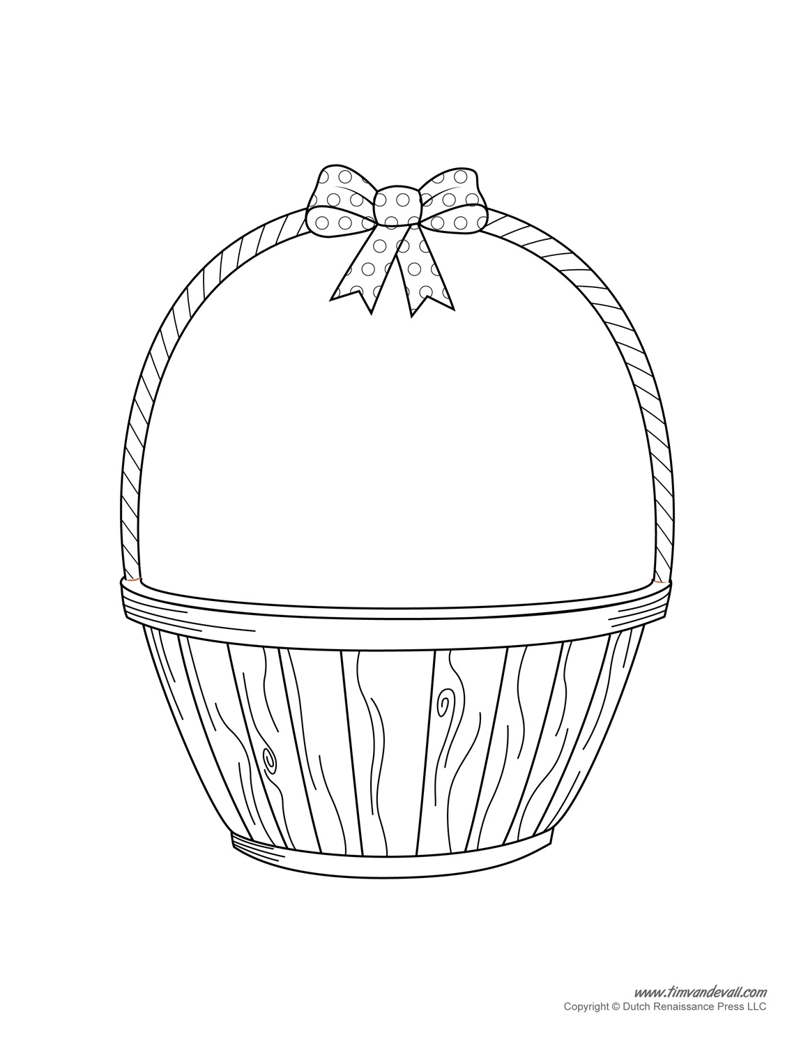Free Basket Black And White Clipart, Download Free Clip Art.