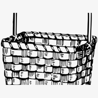Picnic Basket Clipart Outline.