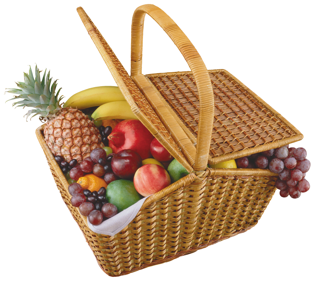 Fruits Basket PNG Clipart.