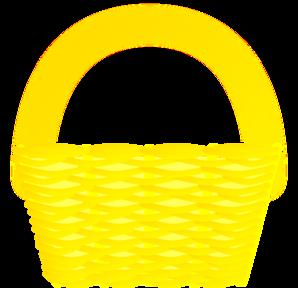 Yellow Basket Clip Art at Clker.com.