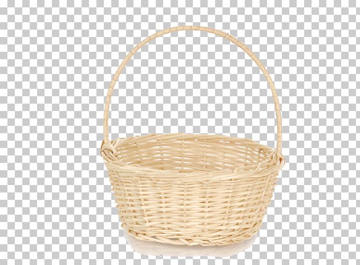 Wicker Material Basket, Empty Easter Basket Transparent.