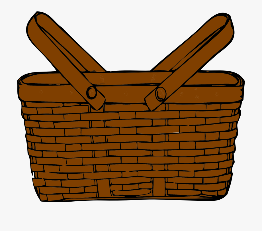 Graphic Image Of A Picnic Basket.