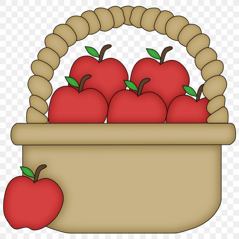 The Basket Of Apples Clip Art, PNG, 1200x1200px, Basket Of.