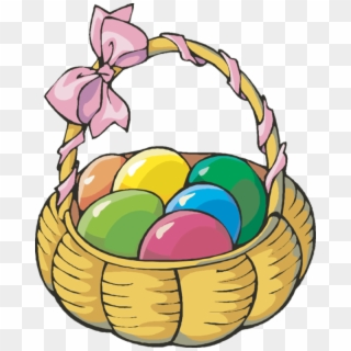 Easter Egg Basket Transparent Png Clip Art Imageu200b.