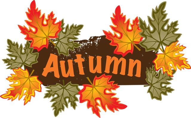 fall pictures clipart free #4