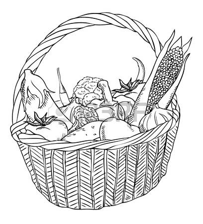 3,799 Vegetable Basket Stock Illustrations, Cliparts And Royalty.