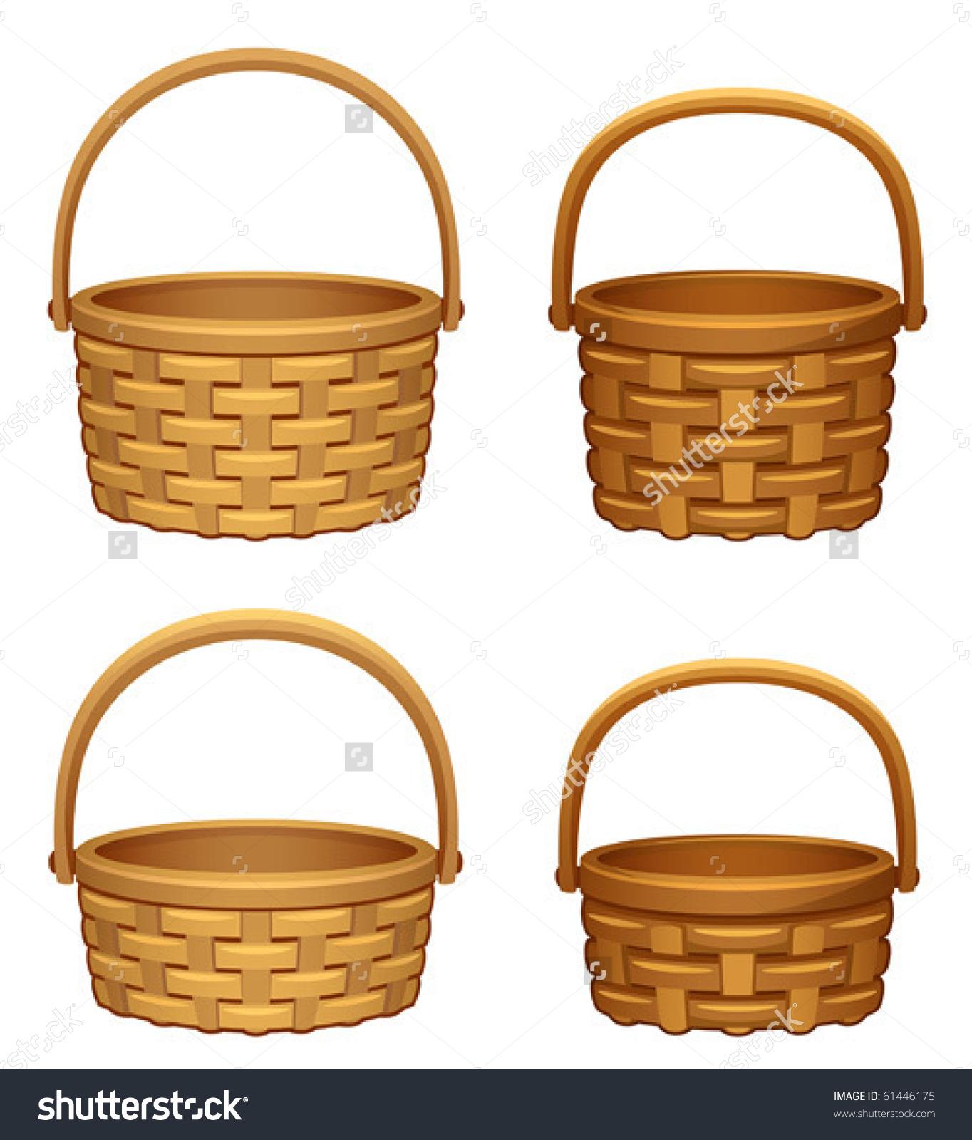 Picnic Basket Clip Art Empty Basket Clipart Collection 1, Laundry.
