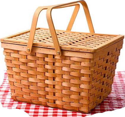 Picnic Basket (PNG).