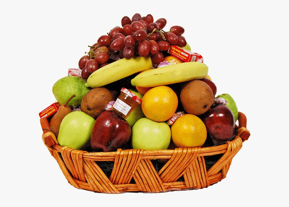 Fruits Transparent Basket Png.