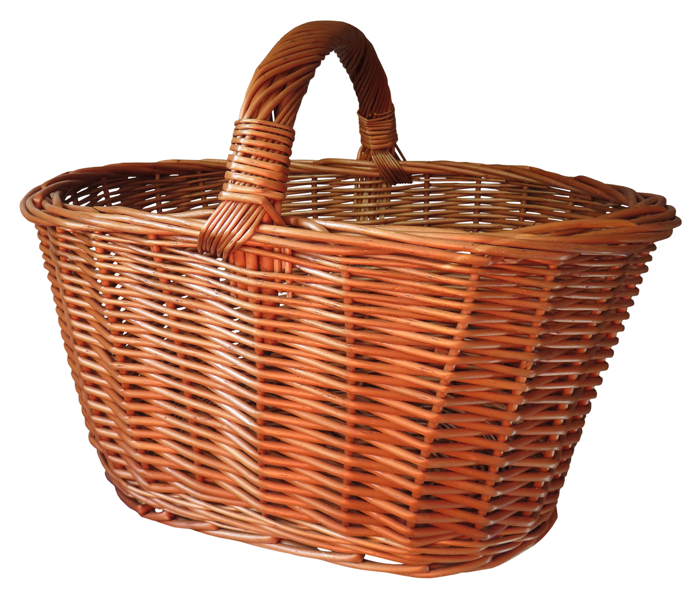 Shopping Basket PNG Transparent Image.