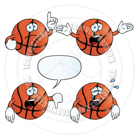 Free Printable Basketball Clip Art.