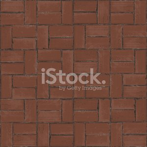 Bricks in Half Basket Weave Pattern Clipart Image.