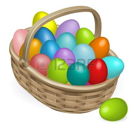 11,985 Eggs In Basket Stock Vector Illustration And Royalty Free.