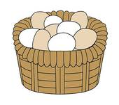 Basket eggs Illustrations and Clipart. 1,754 basket eggs royalty.