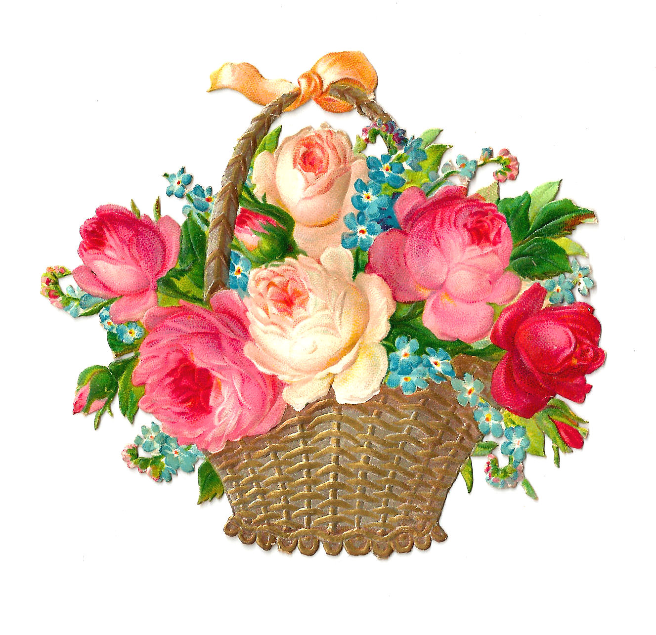 Free Pink Basket Cliparts, Download Free Clip Art, Free Clip.
