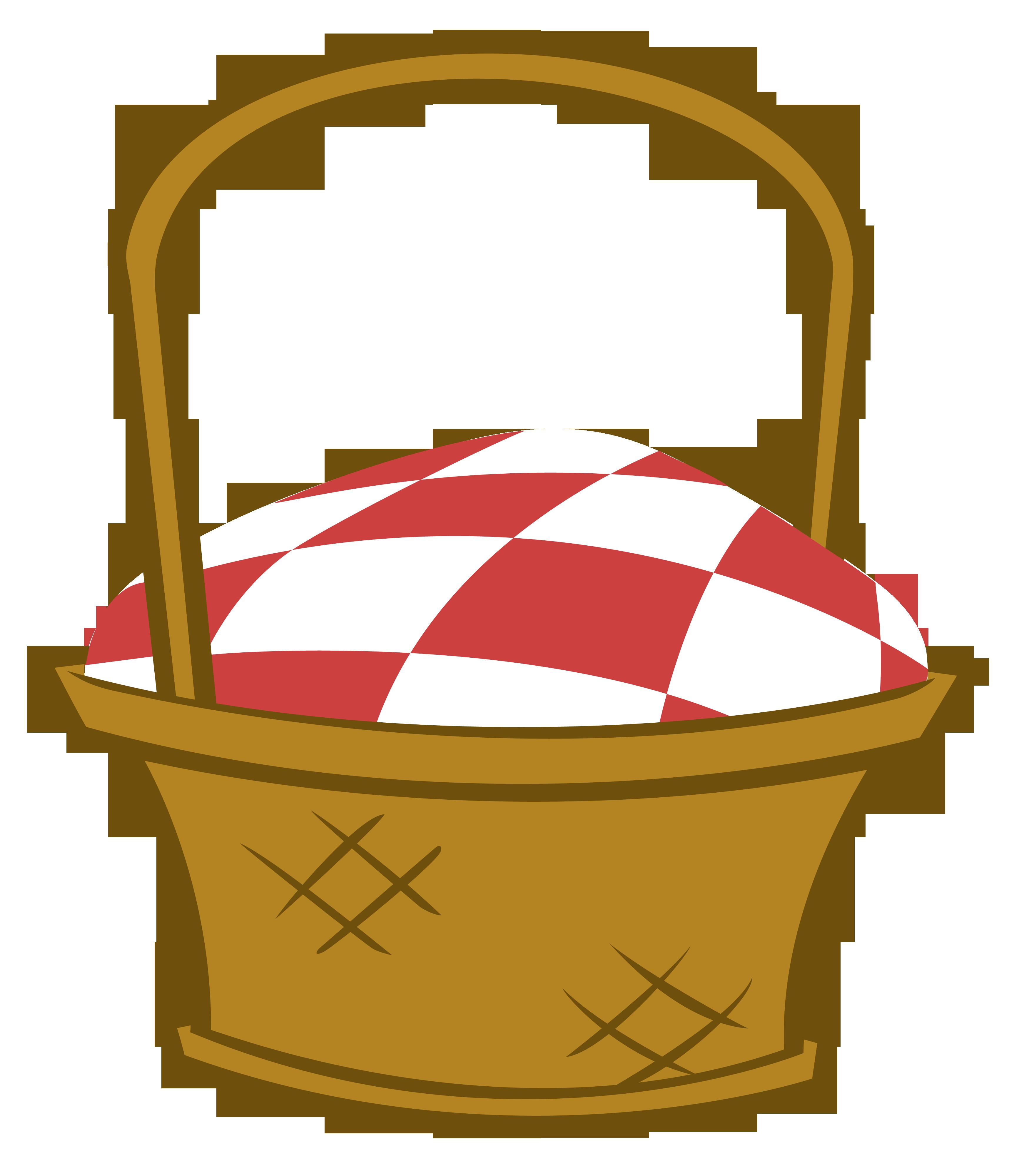 Picnic Basket Clipart.