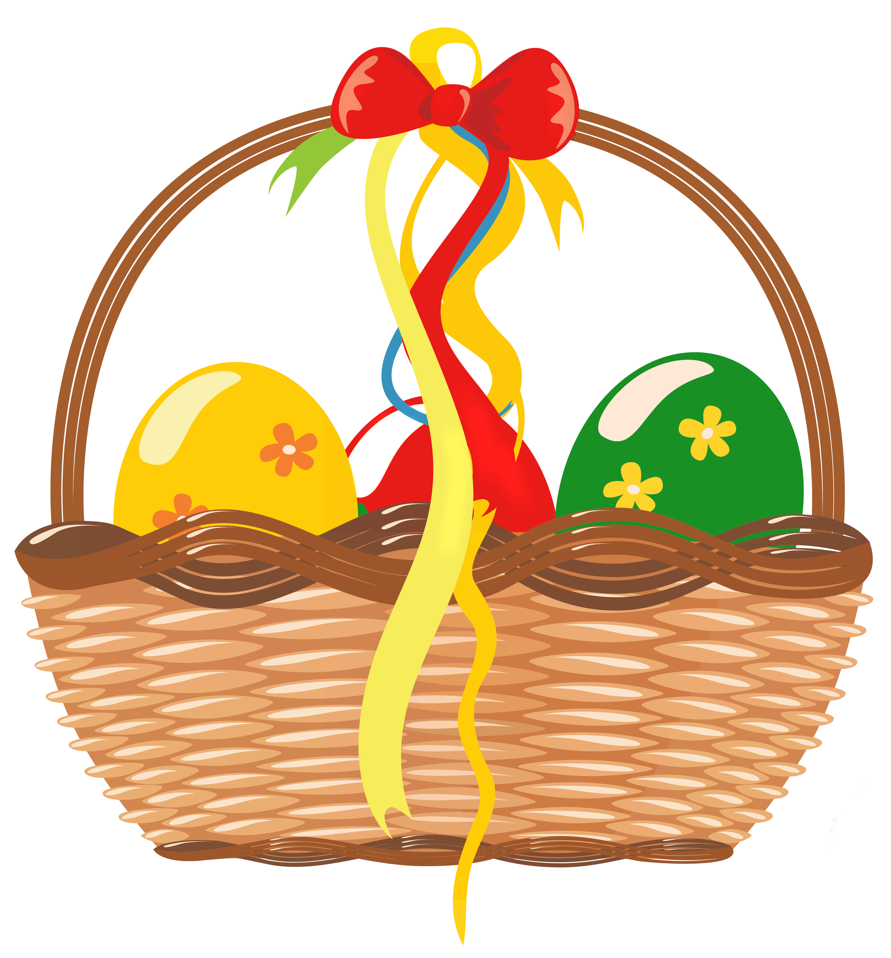 Gift Basket Clipart.