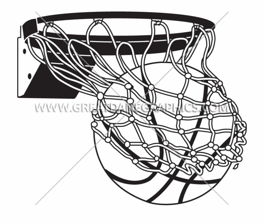 White Drawing Basketball.