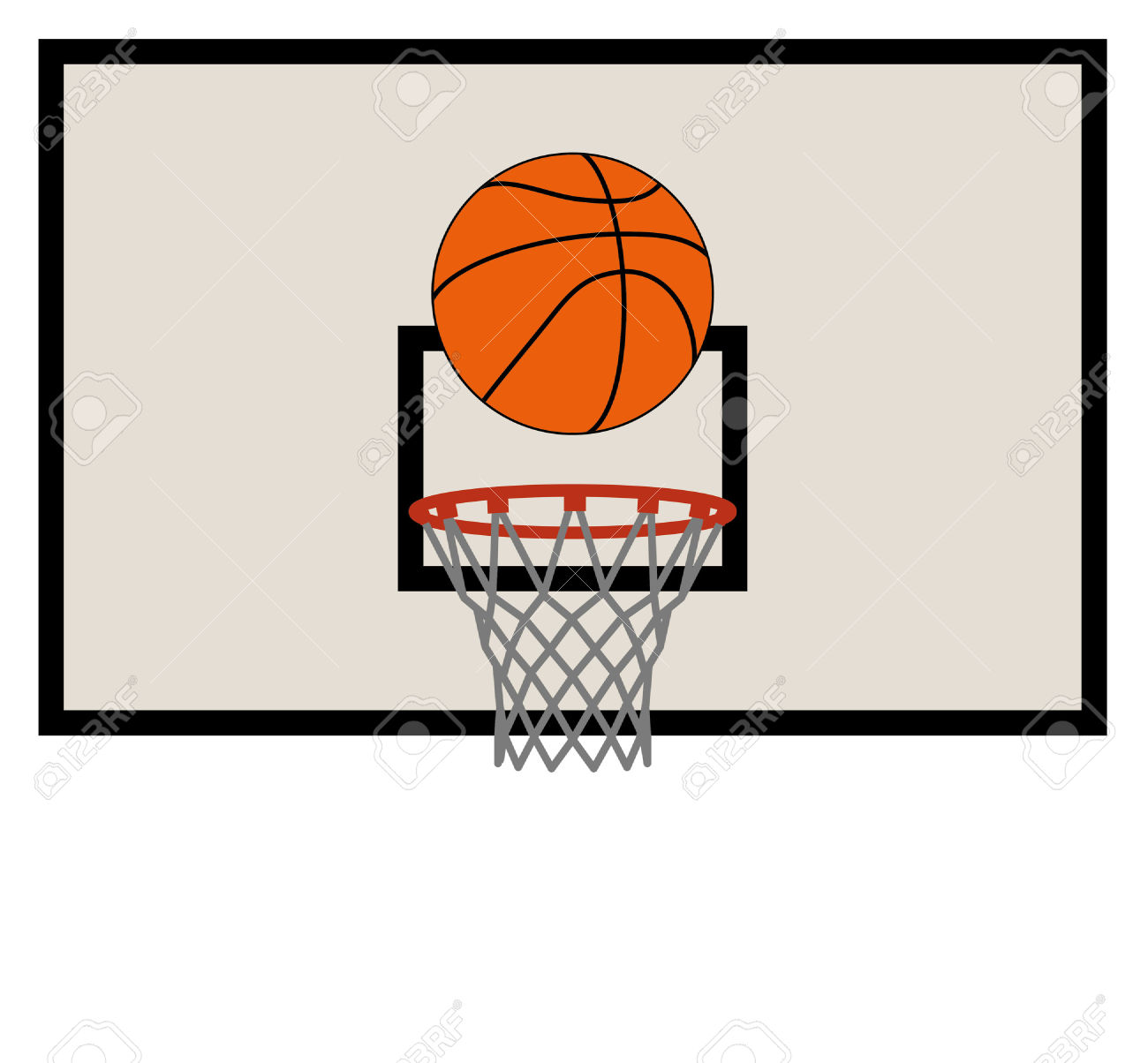7,109 Basketball Backboard Stock Illustrations, Cliparts And.