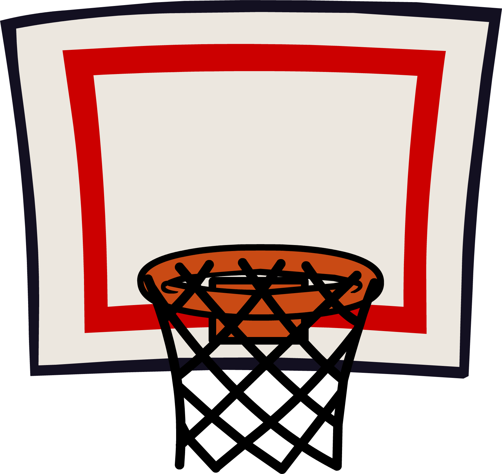 Basketball Goal Clipart Transparent.