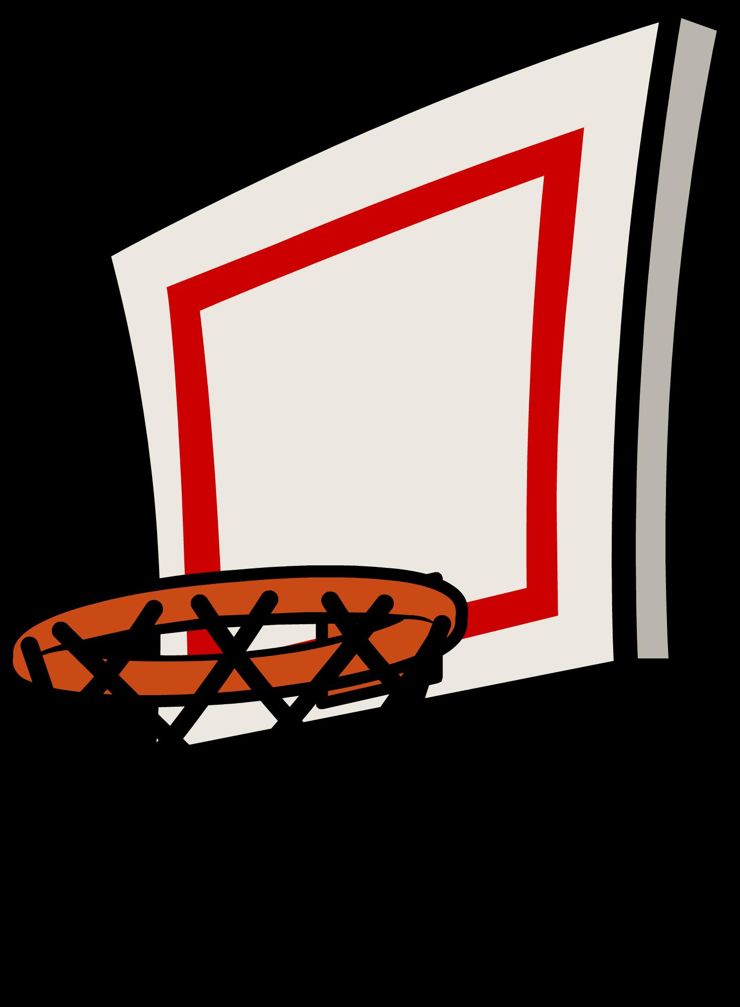 Basketball Goal Clipart Transparent.