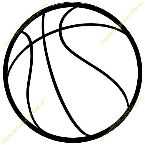 Basketball ball clipart #18