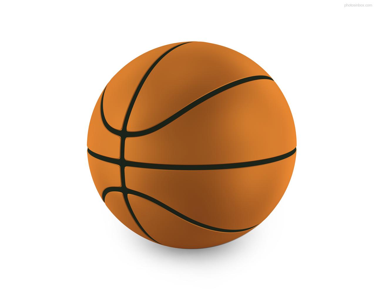 Cartoon Basketball Ball Clip Art.