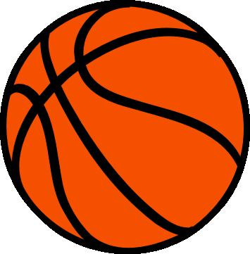 Basketball ball clipart #14