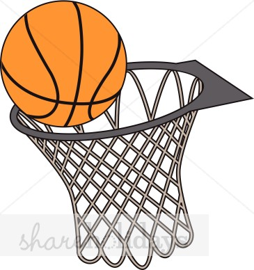 Basketball Hoop Clipart.