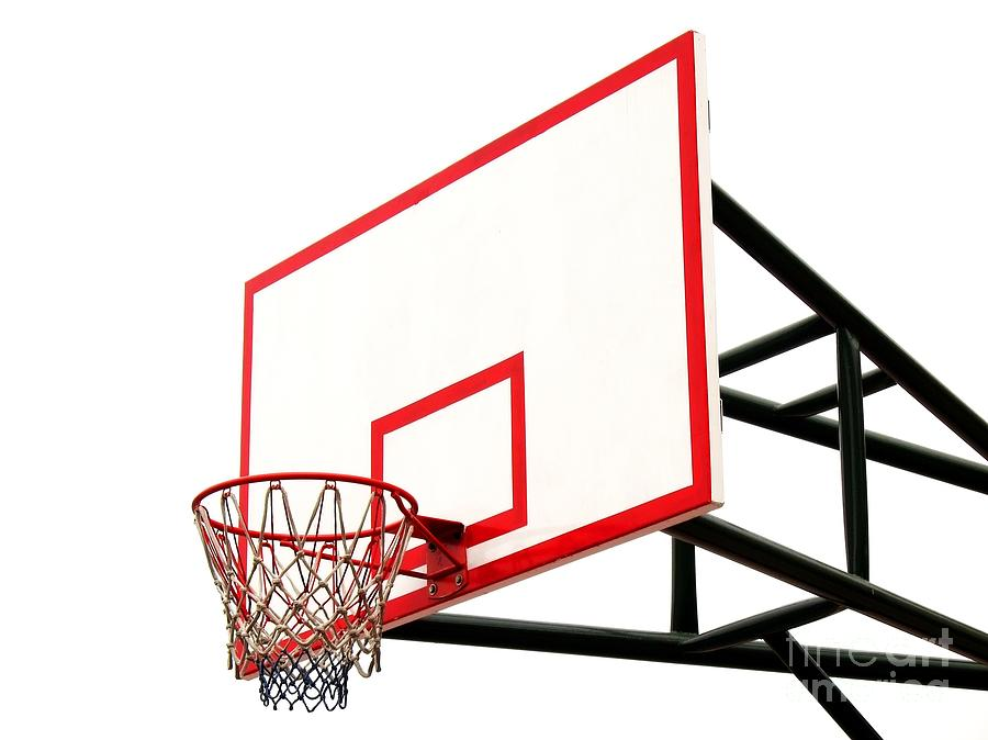 Basketball Basket Clip Art.