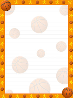 Basketball Border Clipart (91+ images in Collection) Page 2.